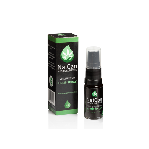 NatCan Hemp Spray 15%