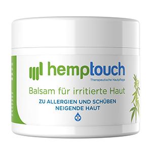 CBD Salbe (50mg) - Hemptouch irritierte Haut