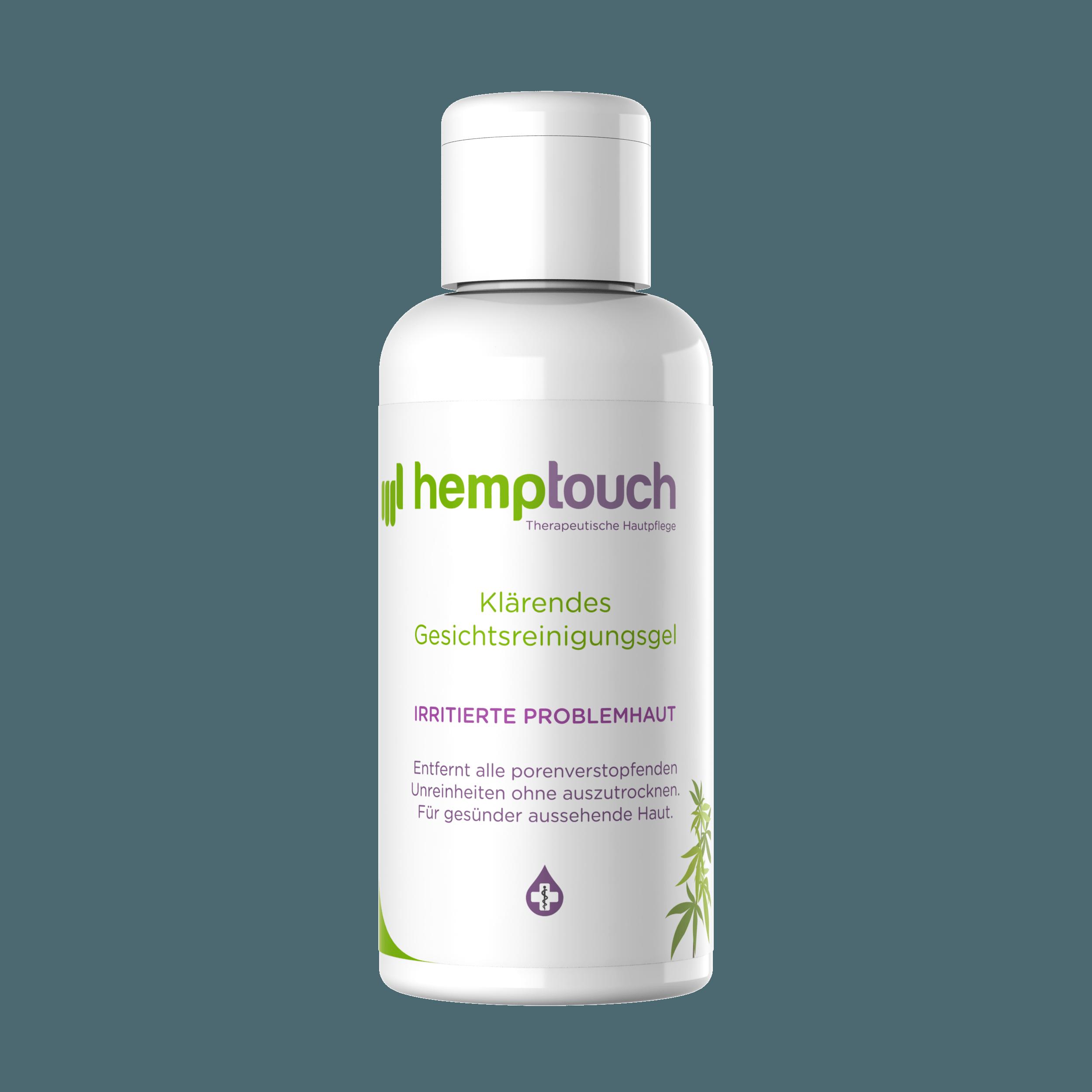 Hemptouch - Klärendes Gesichtsreinigungsgel | 100 ml