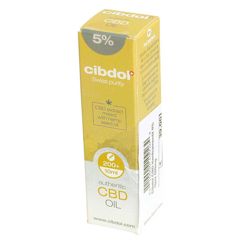 CBD Öl Cibdol 5% Hanfsamenöl 10ml