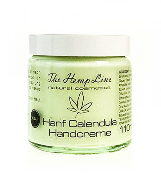 Handcreme Hanf Calendula - The Hemp Line