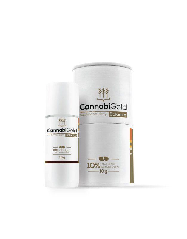 CBD-Öl Balance 10% | 10 ml | 1000 mg CBD | CannabiGold