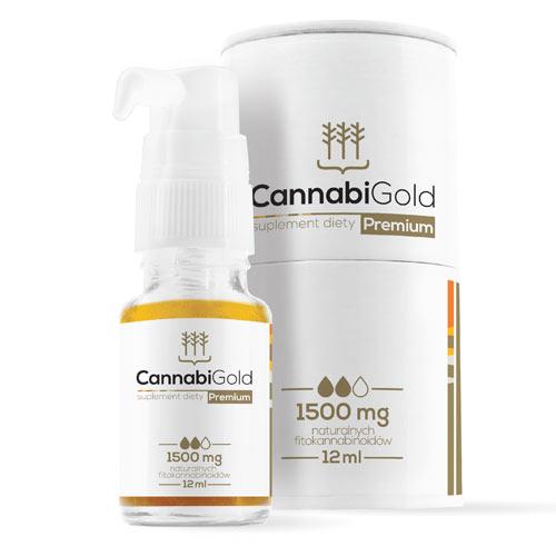 (1.500mg) CBD Öl - CannabiGold