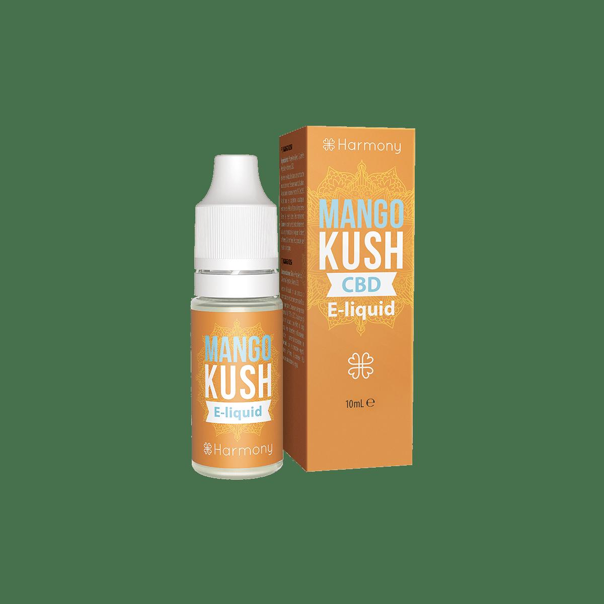 CBD Liquid | HARMONY Mango Kush | Menge 10 ml - 30 mg