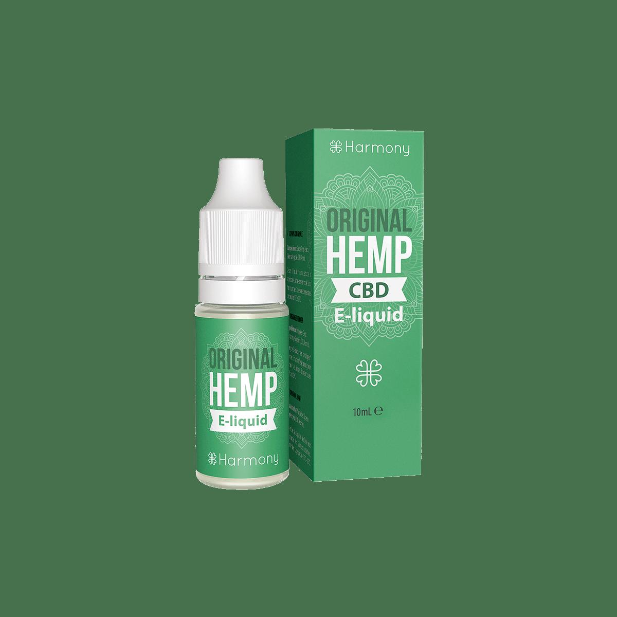 CBD Liquid | HARMONY Original Hemp | Menge 10 ml - 100 mg