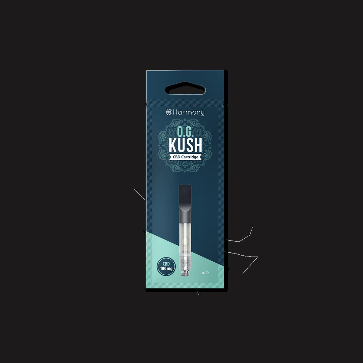 HARMONY Pen Vaporizer - O.G. Kush | 1ml - 100mg CBD - Nur Patrone