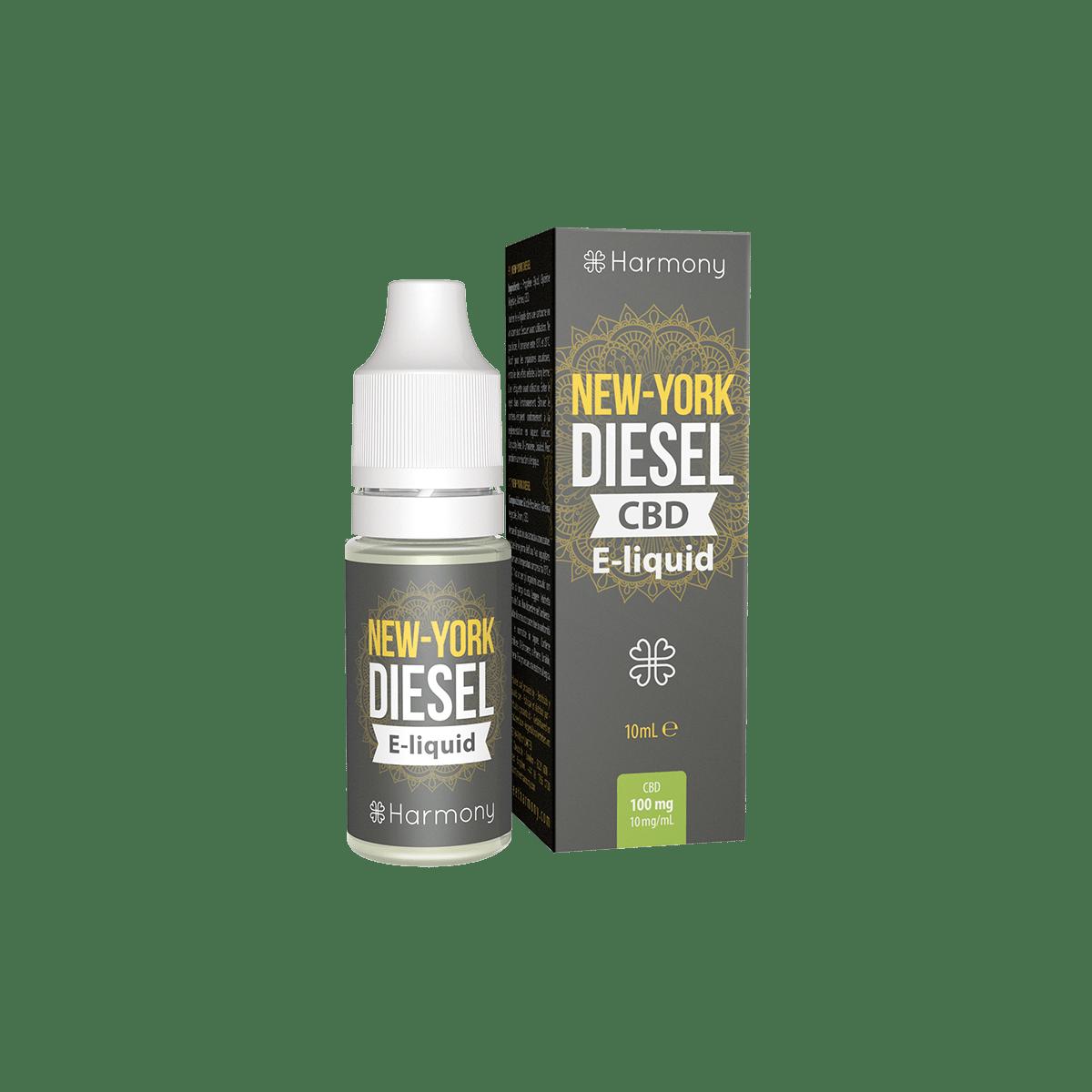 CBD Liquid | HARMONY New York Diesel | Menge 10 ml - 30 mg