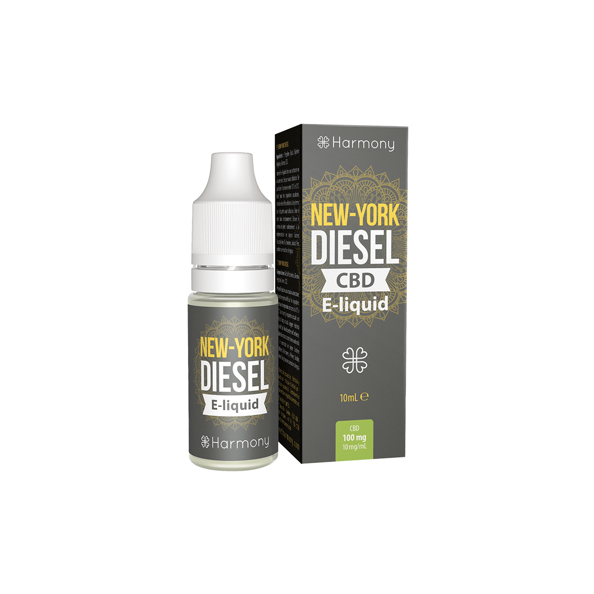 CBD Liquid | HARMONY New York Diesel | Menge 10 ml - 600 mg