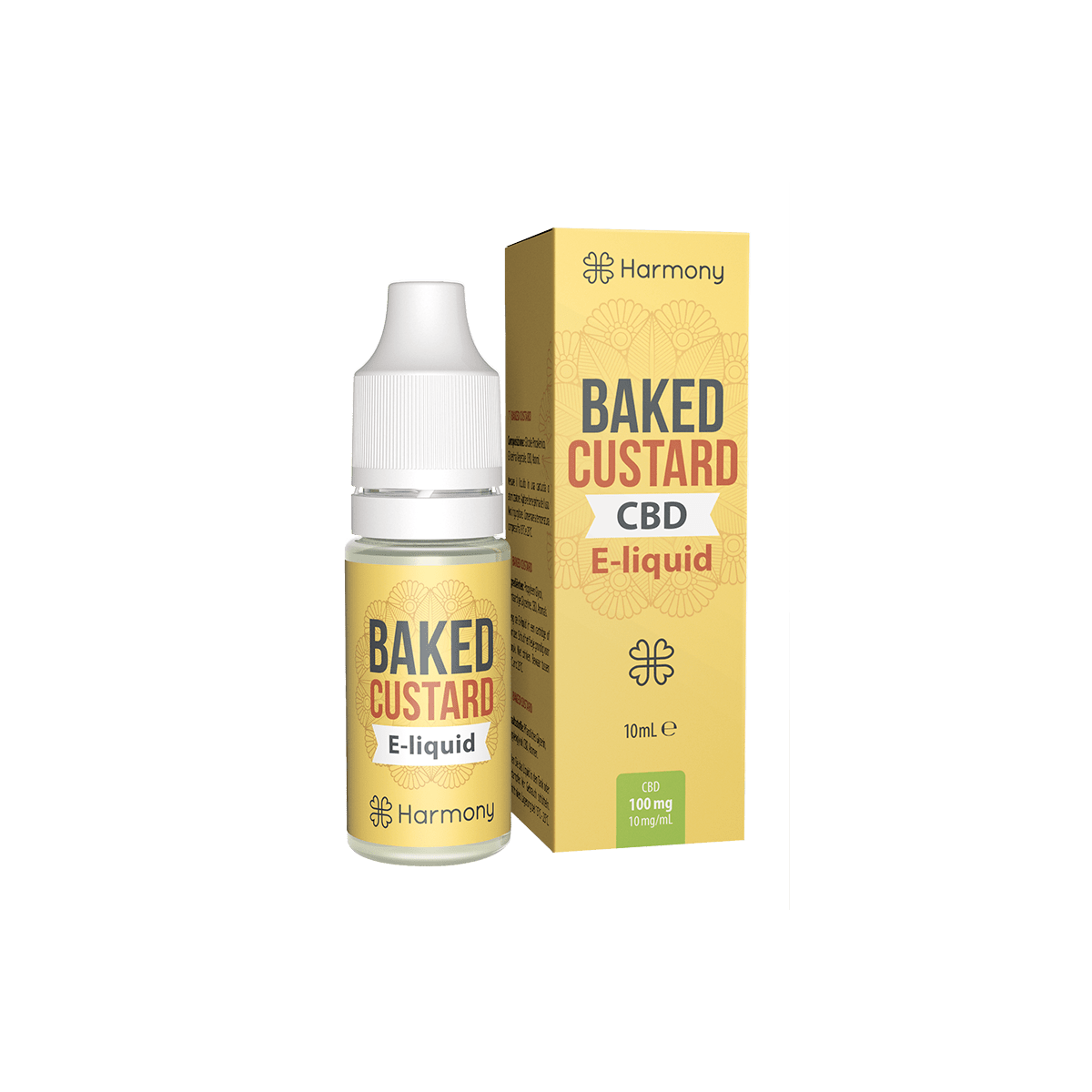 CBD Liquid | HARMONY - Baked Custard | Menge 10 ml - 100 mg