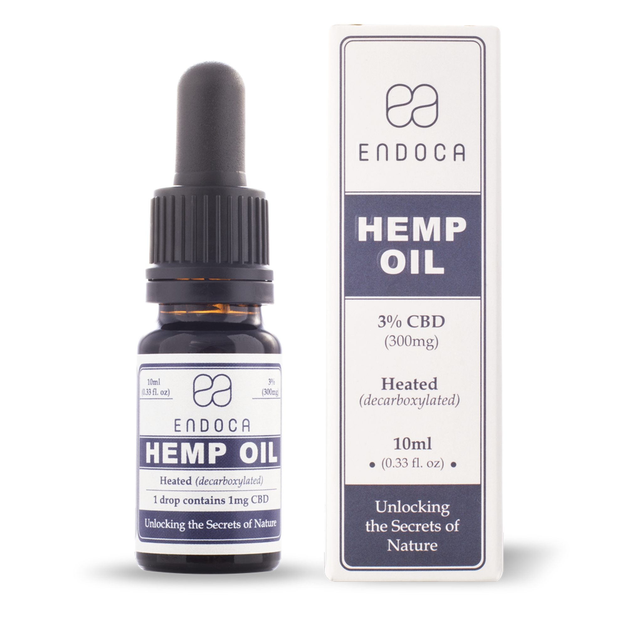 CBD Öl 3% | 300 mg CBD | 10ml | Endoca