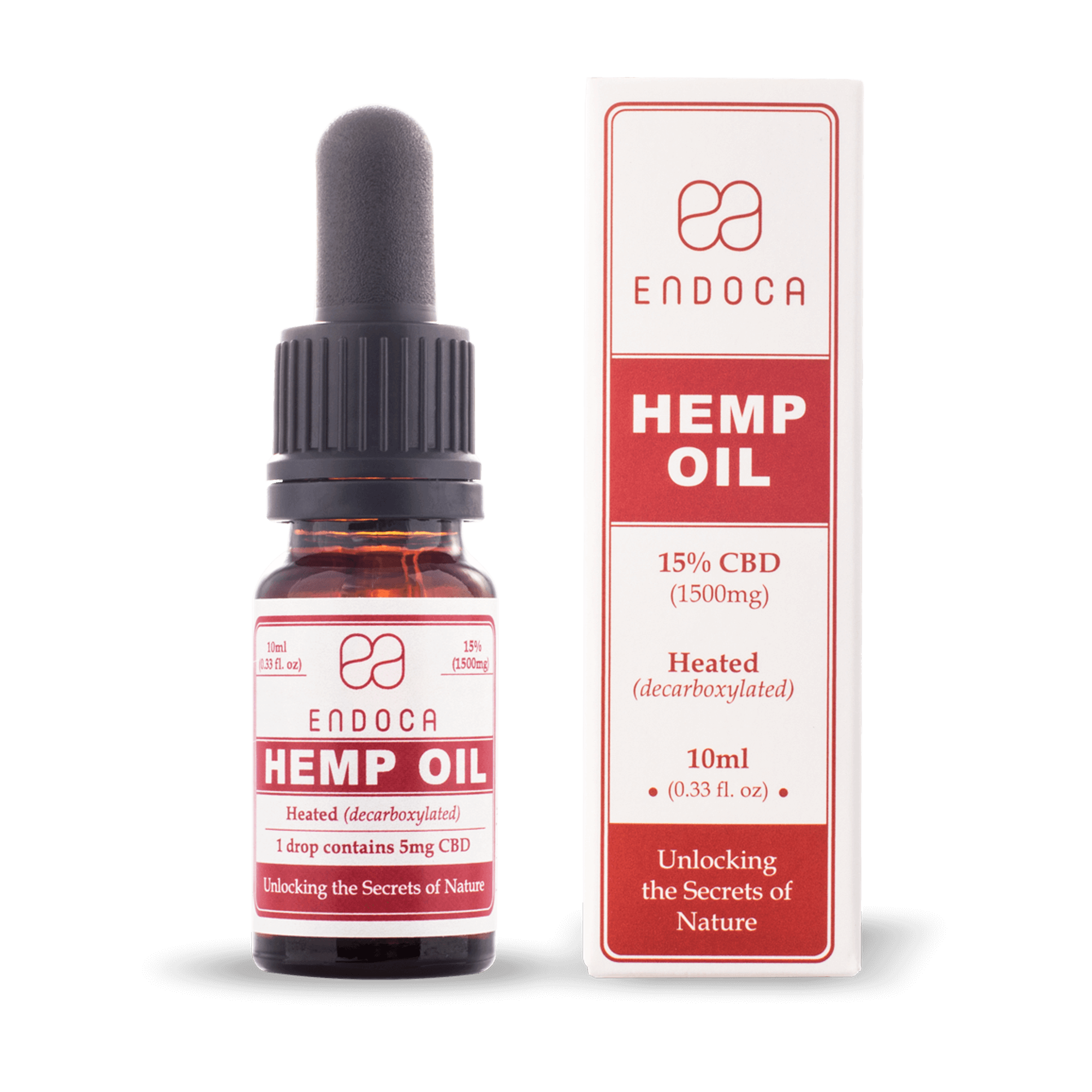 CBD Öl 15% | 10ml | 1500mg CBD | Endoca
