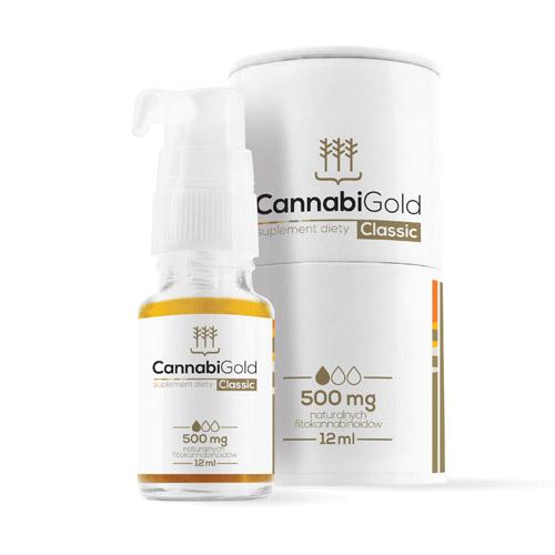 (500mg) CBD Öl - CannabiGold