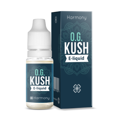 CBD E-Liquid OG KUSH   300 mg CBD   10 ml   Harmony
