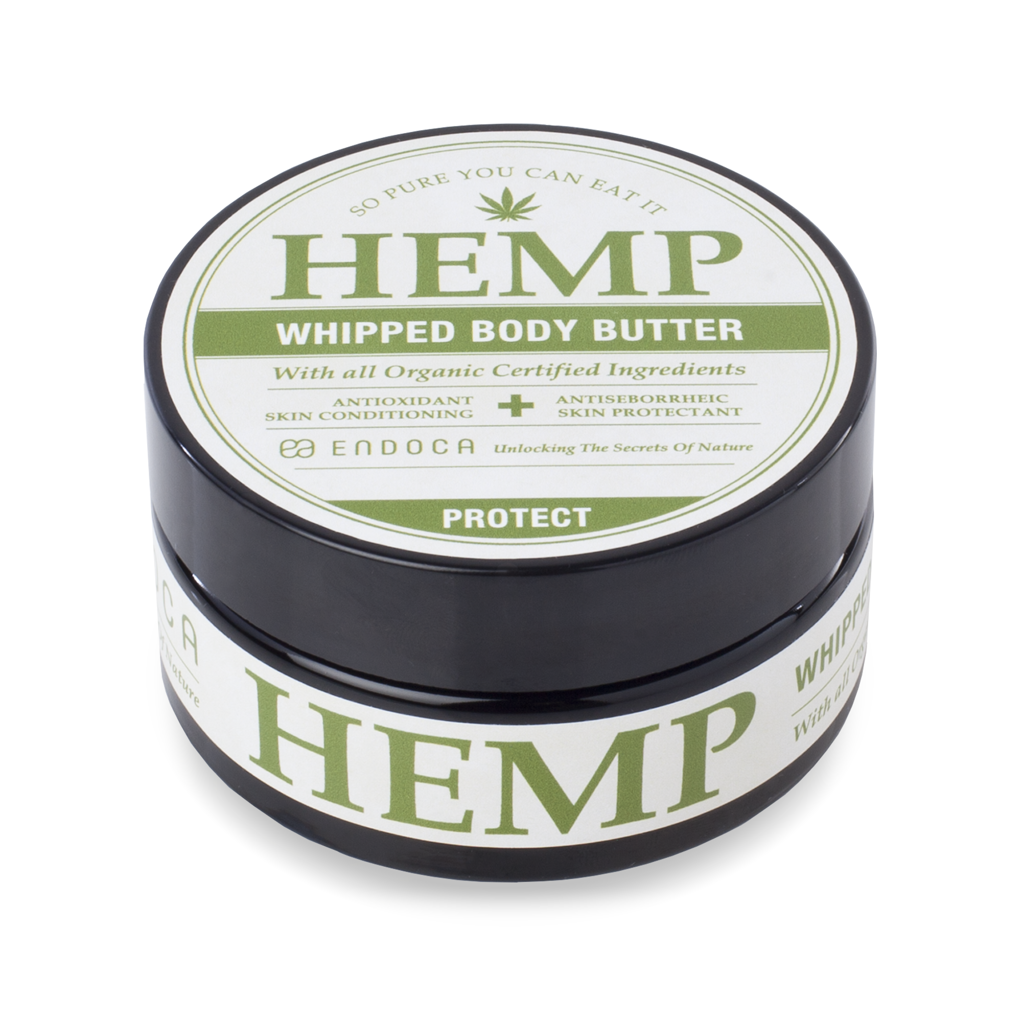 CBD Creme, 100ml, Endoca - Hemp Whipped Body Butter | 100 ml