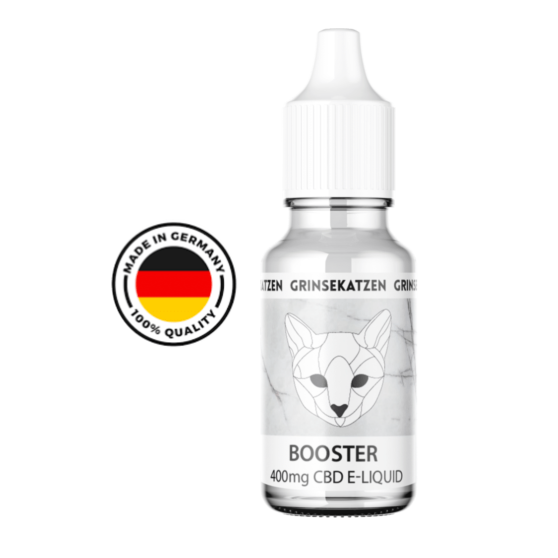 Liquid 400mg Booster Base - Grinsekatze