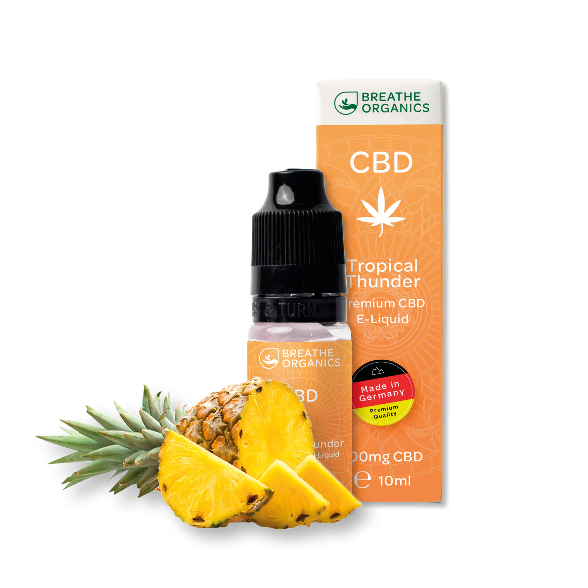 Liquid 600mg Tropical Thunder - Breathe Organics