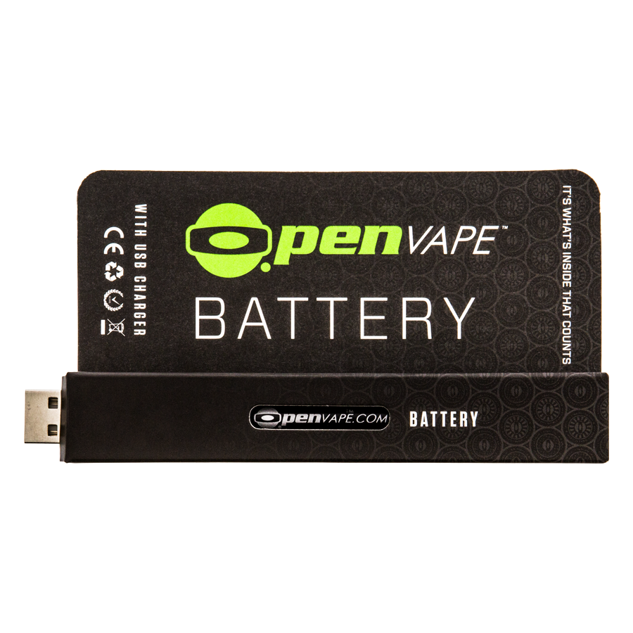 OpenVape - Black Batterie - with usb charger