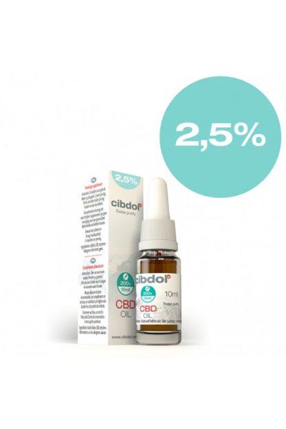 CBD Öl Cibdol 2,5% 30ml