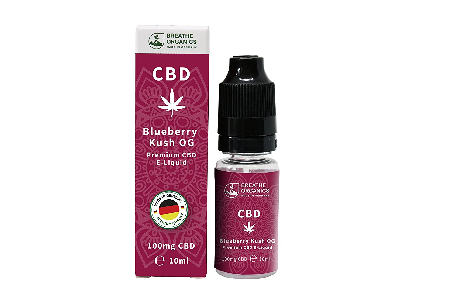 Breathe Organics Blueberry Kush | 10 ml - 100 mg