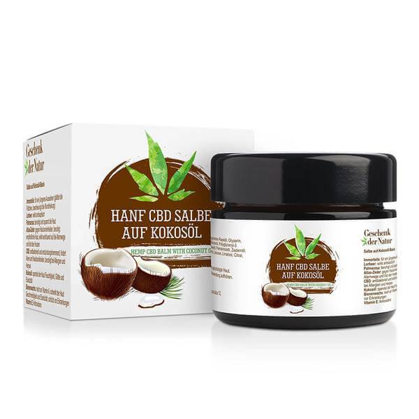 Geschenk der Natur - CBD Hanf Salbe mit Immortelle und Kokosöl