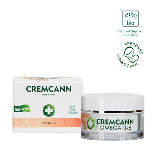 Cremcann Omega 3-6 Hautcreme - Annabis