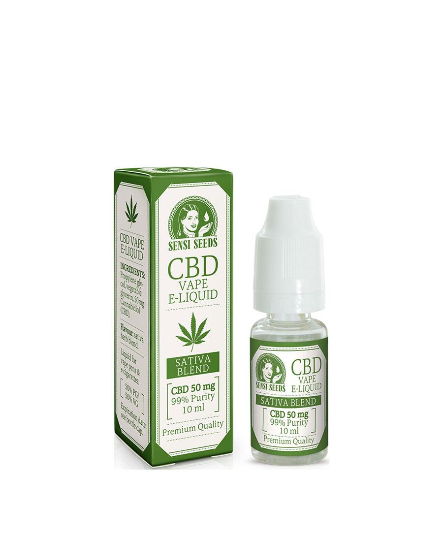 CBD E-Liquid | 10 ml | 50 mg CBD | Sensi Seeds