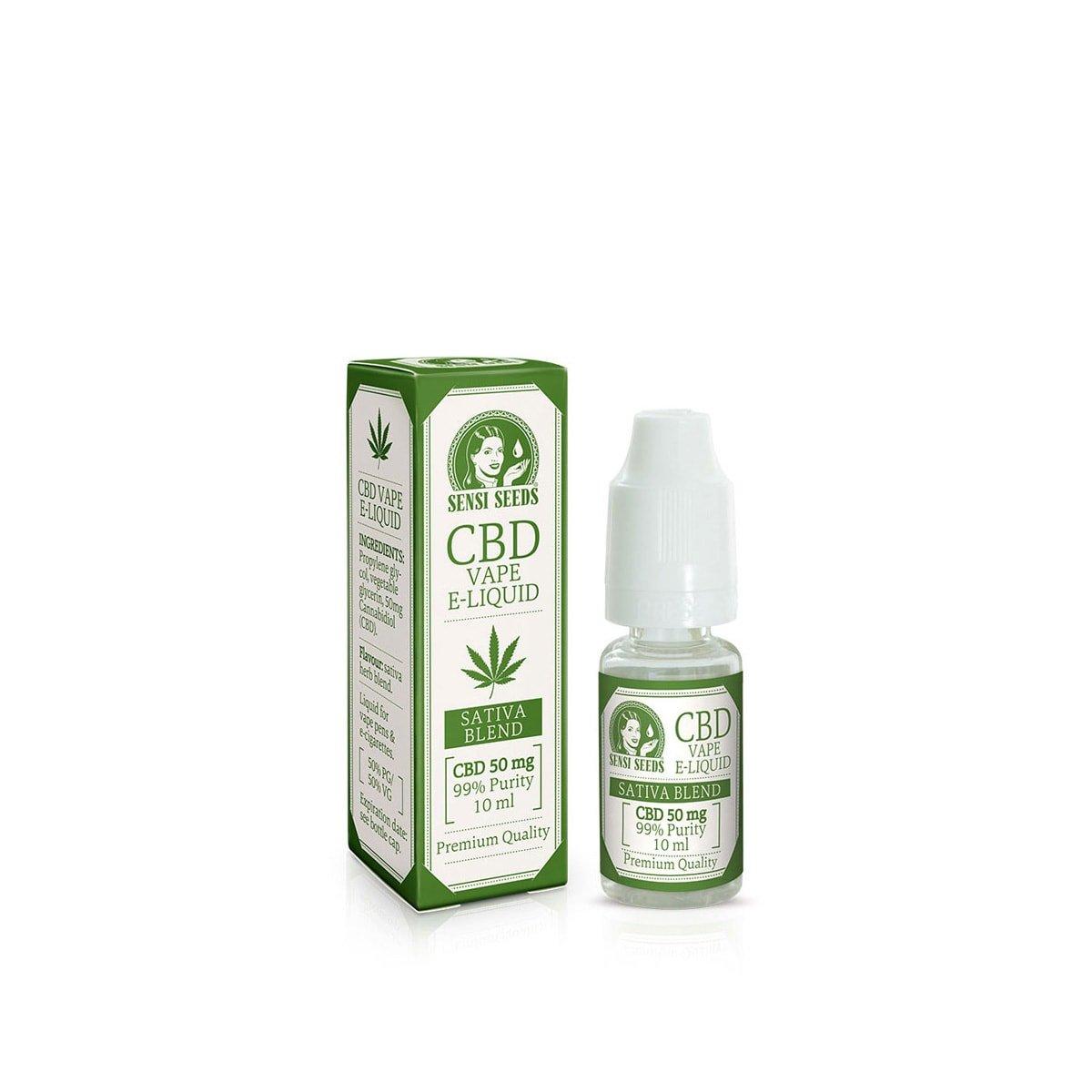 CBD E-Liquid (200mg) - SensiSeeds