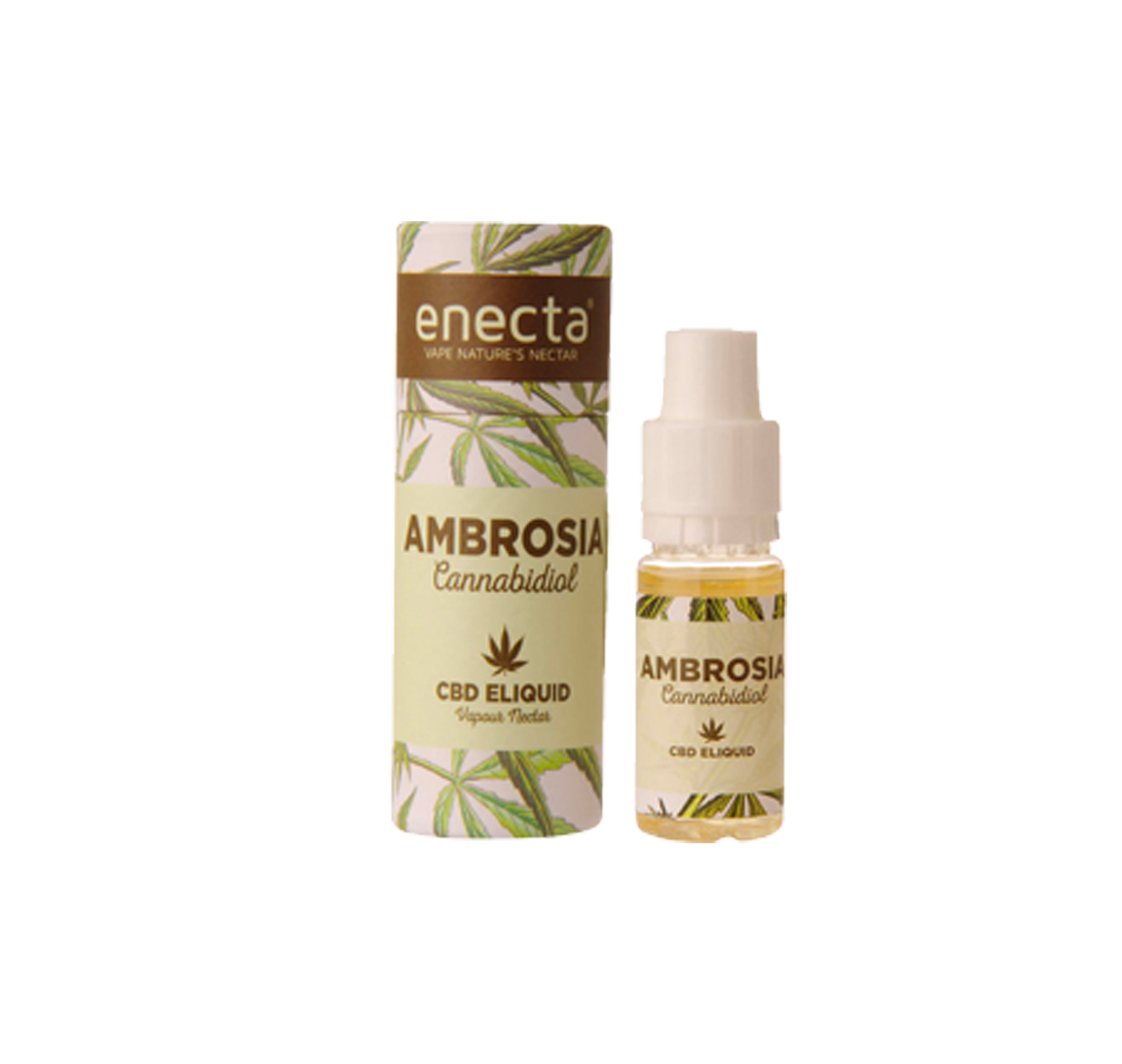 CBD-Liquid Ambrosia Tabacco | 10 ml mit 20 mg CBD