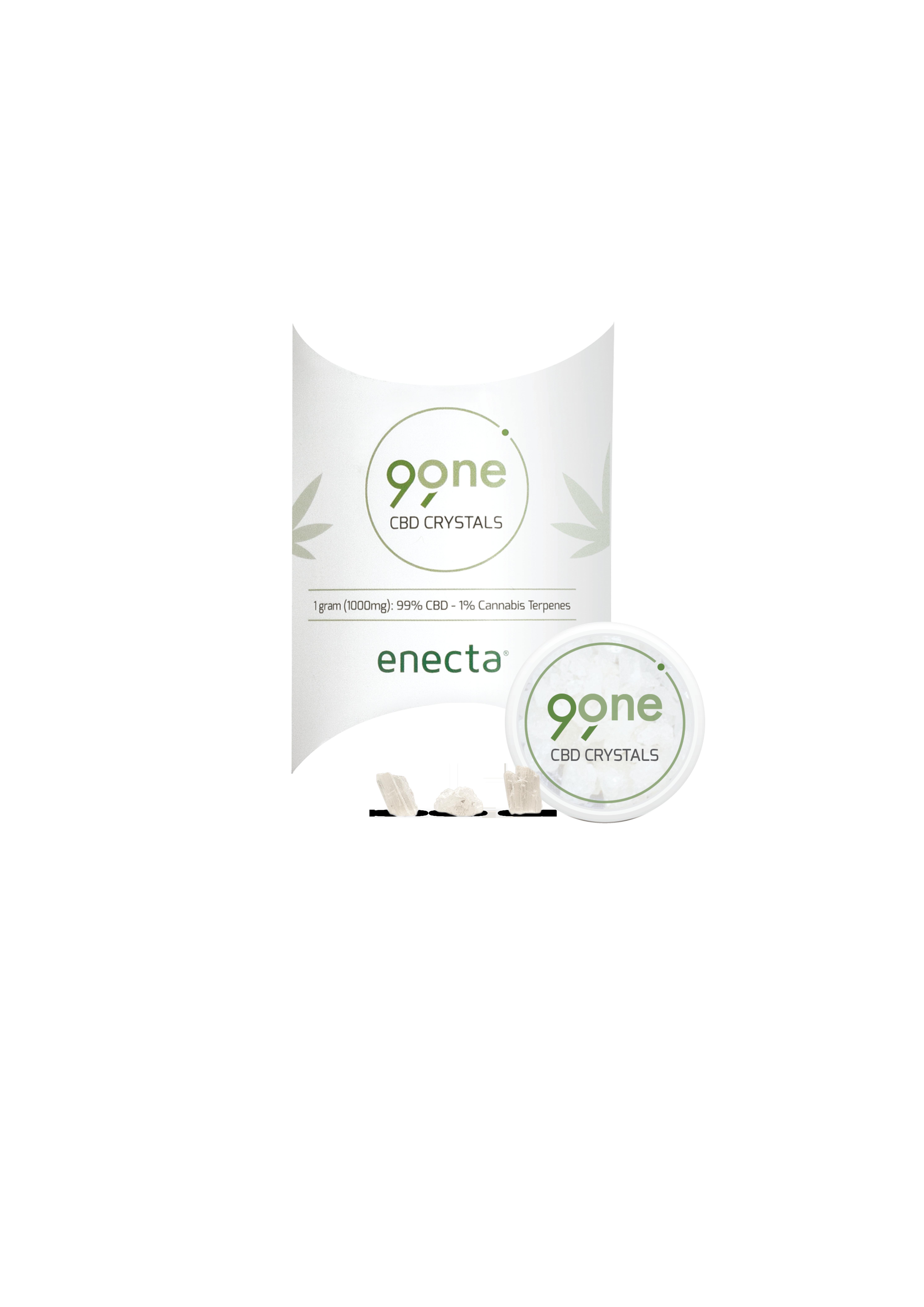 CBD-Kristalle 500 mg   500 mg CBD   Enecta