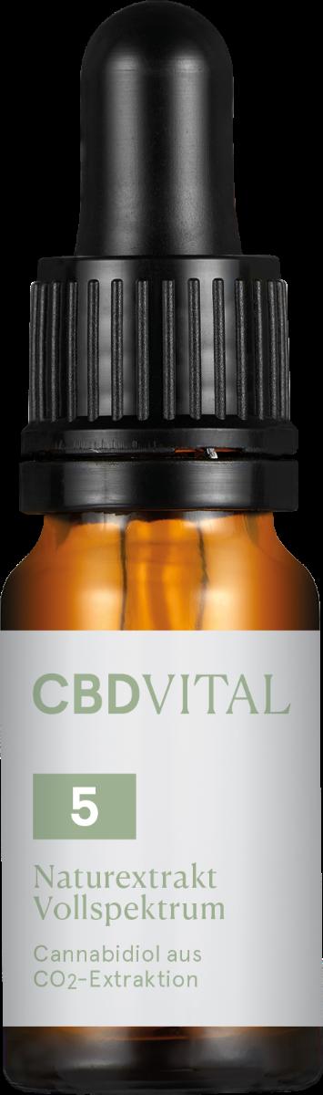 CBD-Vital CBD-Öl Naturextrakt 5%