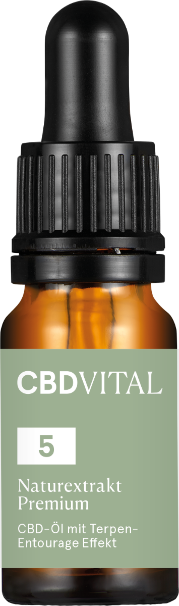 CBD-Vital Naturextrakt PREMIUM Öl 5%